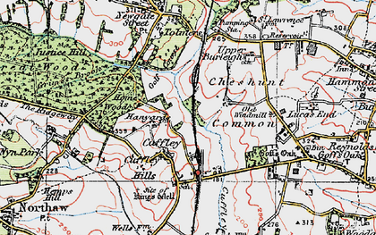 Cheshunt Common photos maps books memories
