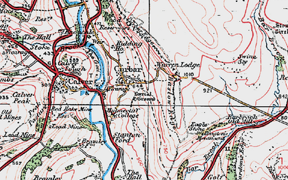 Old map of Bar Brook in 1923