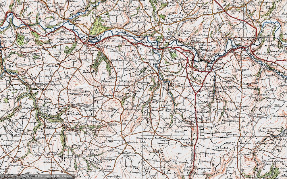 Cwmhiraeth, 1923