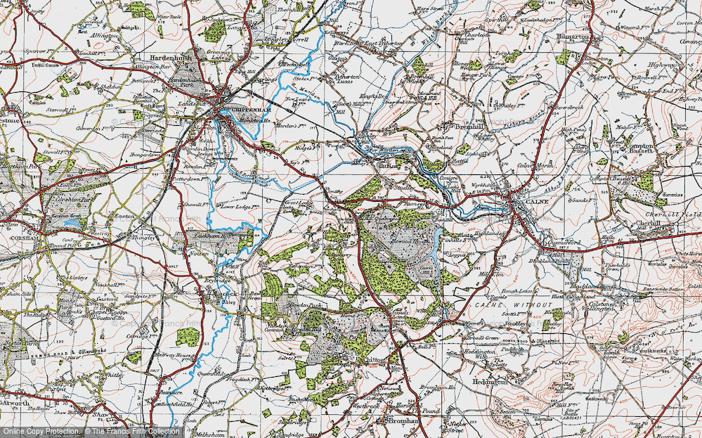 Old Maps of Derry Hill Francis Frith