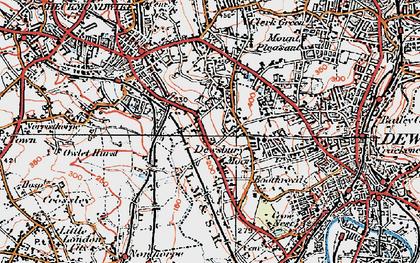 Dewsbury Moor photos maps books memories Francis Frith