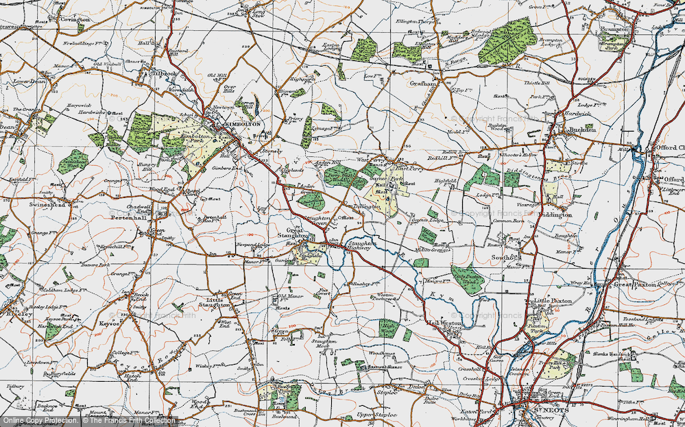 Dillington, 1919