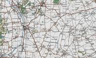 Map of Dunton, 1919