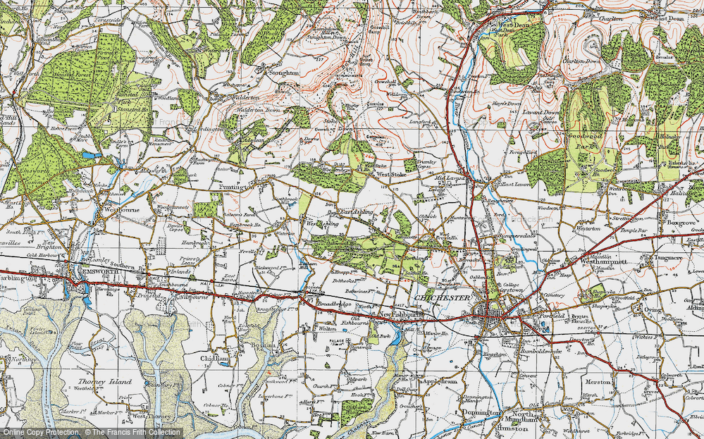 Old Maps of Oakwood (Sch) - Francis Frith Sch Maps on