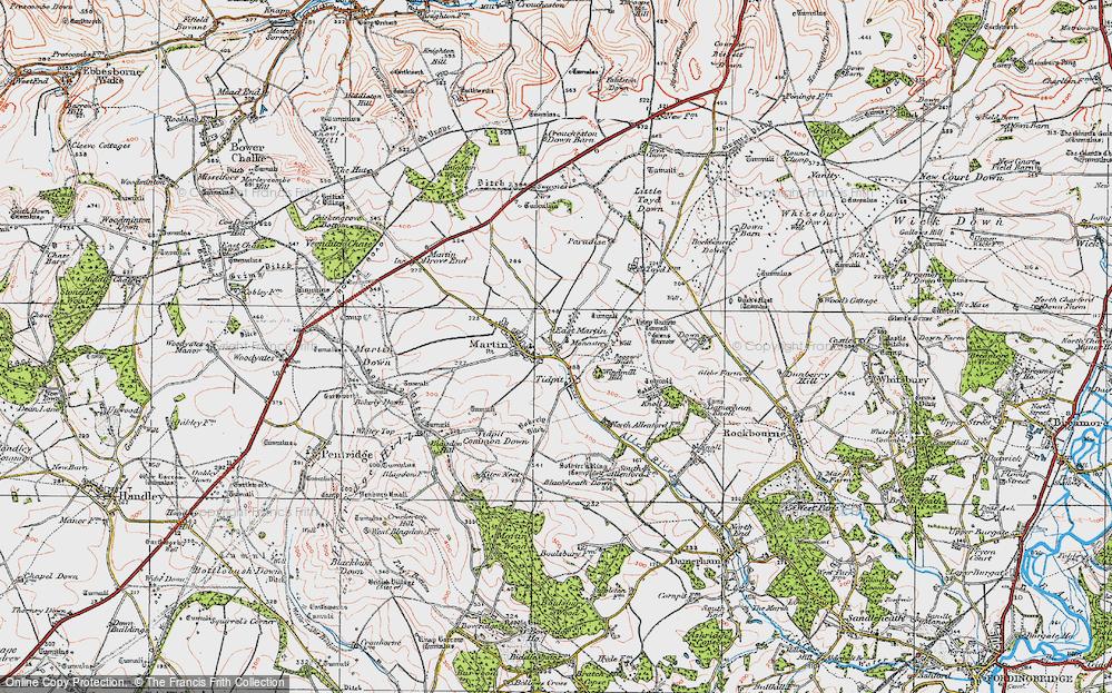 East Martin, 1919
