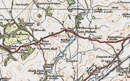 Old map of Williamson Br in 1924