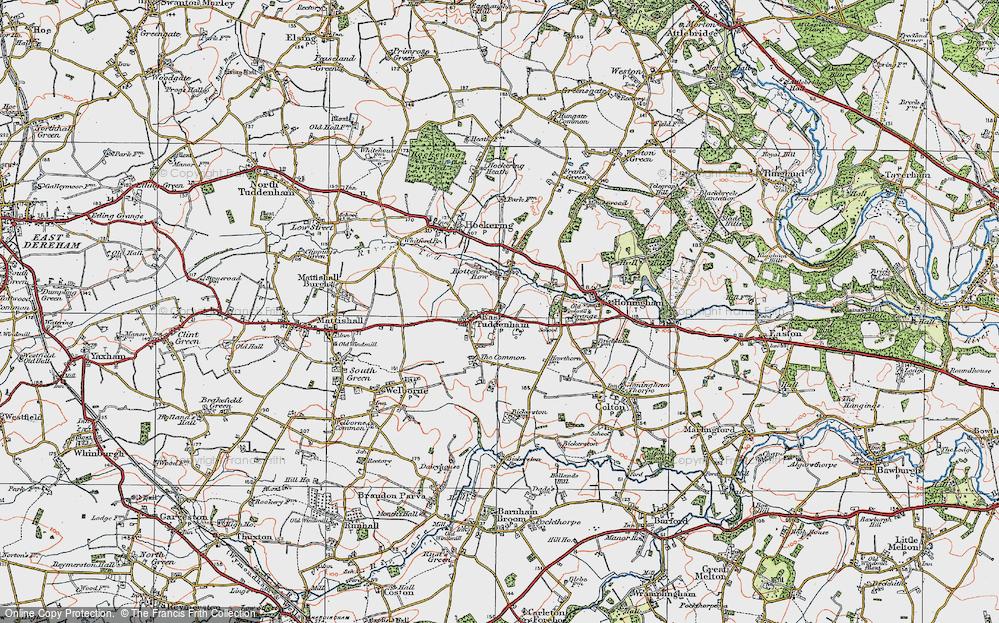 East Tuddenham, 1921