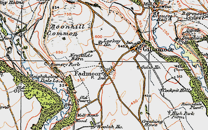 Old map of Aumery Park in 1925