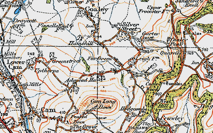 Old map of Ashmead Ho in 1919