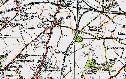 Old map of Filton in 1919
