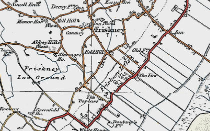 Old map of Abbey Hills in 1923