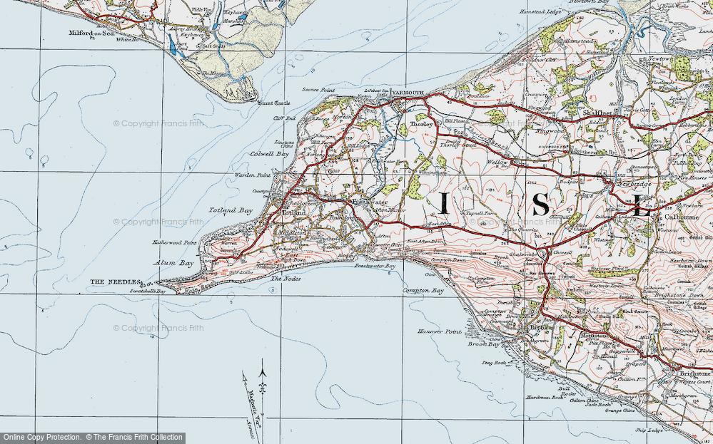 isle of wight map pdf