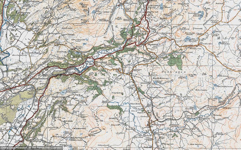 Gellilydan, 1922