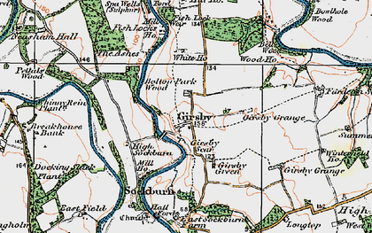 Old map of Liberty Lodge in 1925