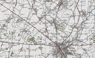 Map of Girton, 1920
