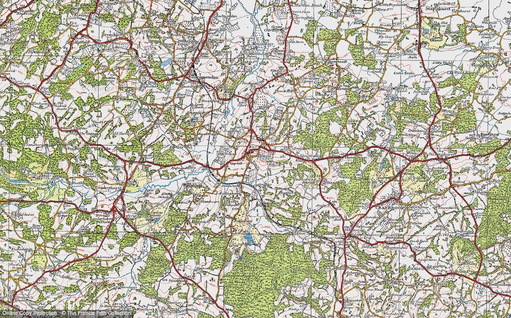 Goudhurst, 1921