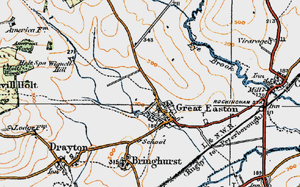 Old map of Wignell Hill in 1920