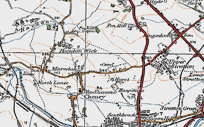 Old map of Greenmeadow in 1919