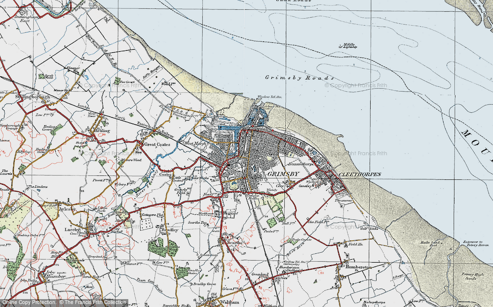 Old Maps of Grimsby Francis Frith