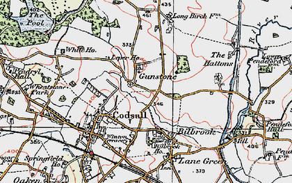 Old map of Leper Ho in 1921