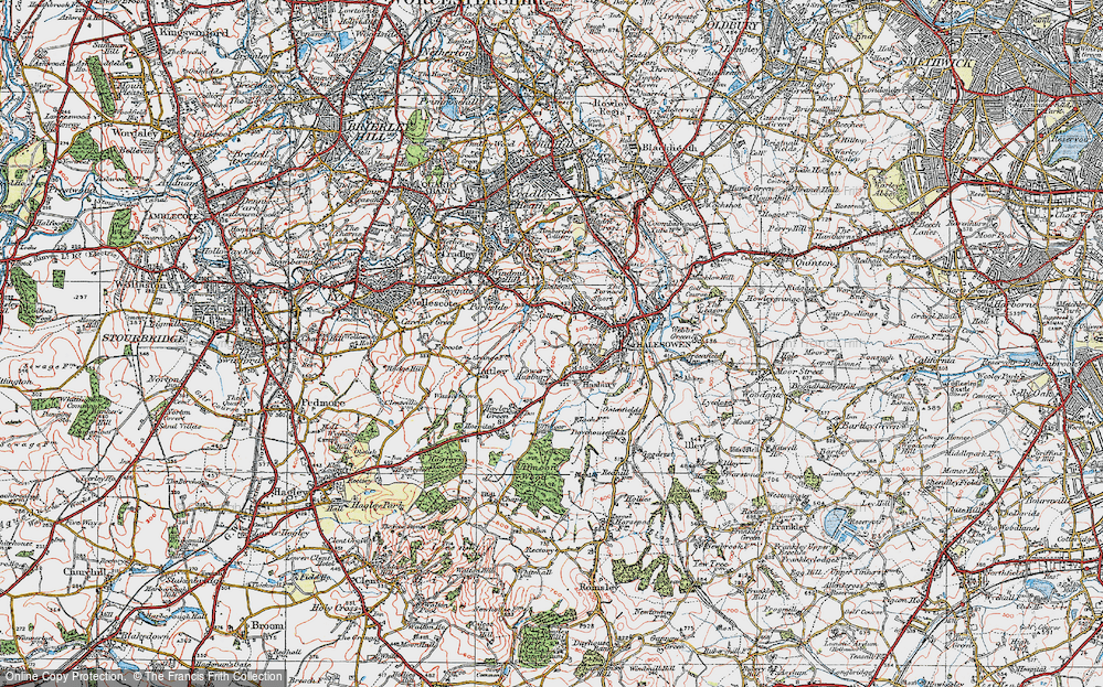 Old Maps of Halesowen Francis Frith
