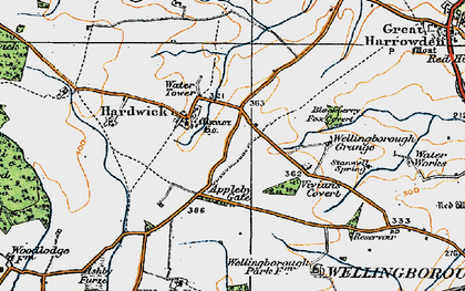 Old map of Appleby Gate in 1919