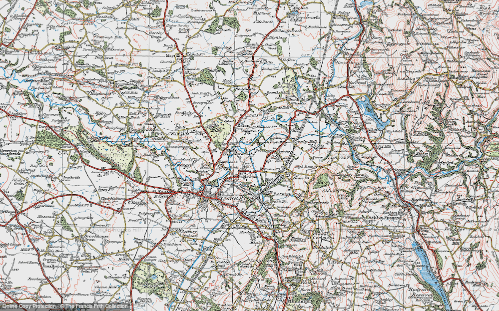 Old Maps of Buglawton Hall Sch - Francis Frith Sch Maps on