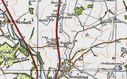 Old map of Hay Street in 1919