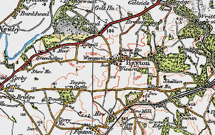 Old map of Westgarth in 1925