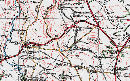 Old map of Lean Low in 1923