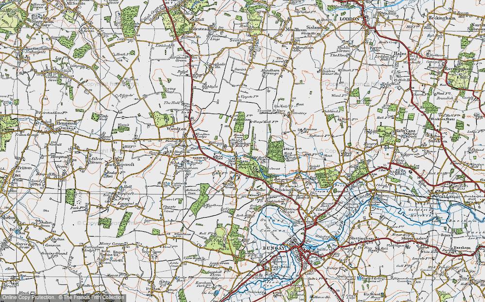 Hedenham, 1921