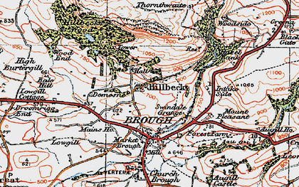 Old map of West View in 1925