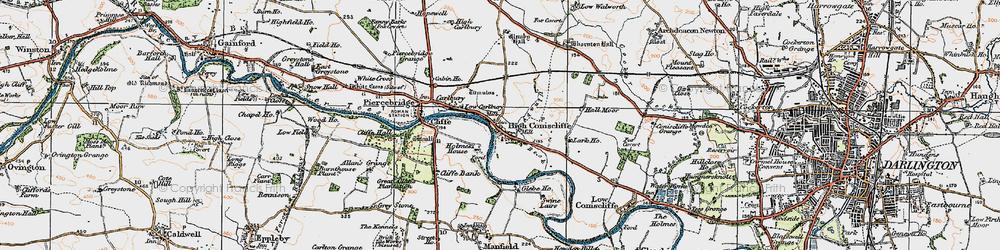 Old map of Lark Ho in 1925