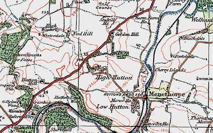 Old map of Westerdale in 1924