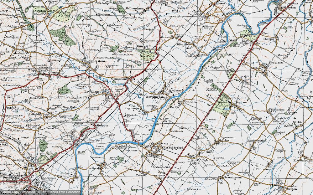 Hoveringham, 1921