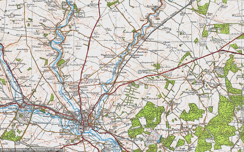Old Maps of BracknellCroft Francis Frith