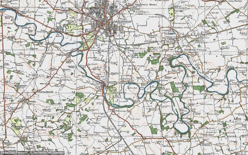 Hurworth-on-Tees, 1925