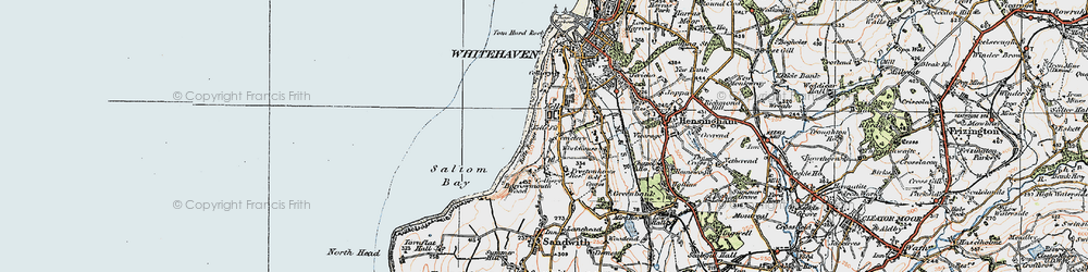 Old map of Kells in 1925