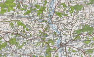 Map of Kents Oak, 1919
