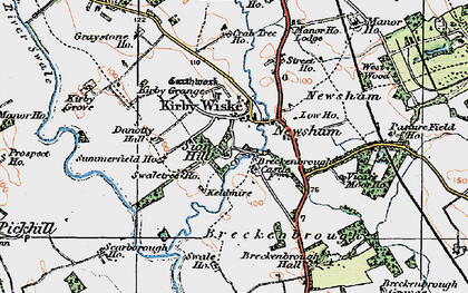 Old map of Avenue Grange in 1925