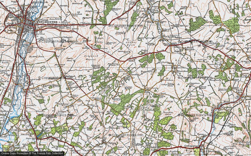 Lane End, 1919