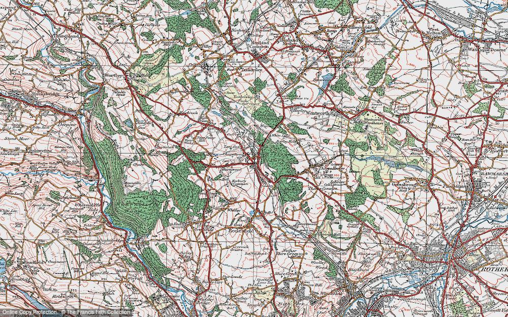 Lane End, 1924