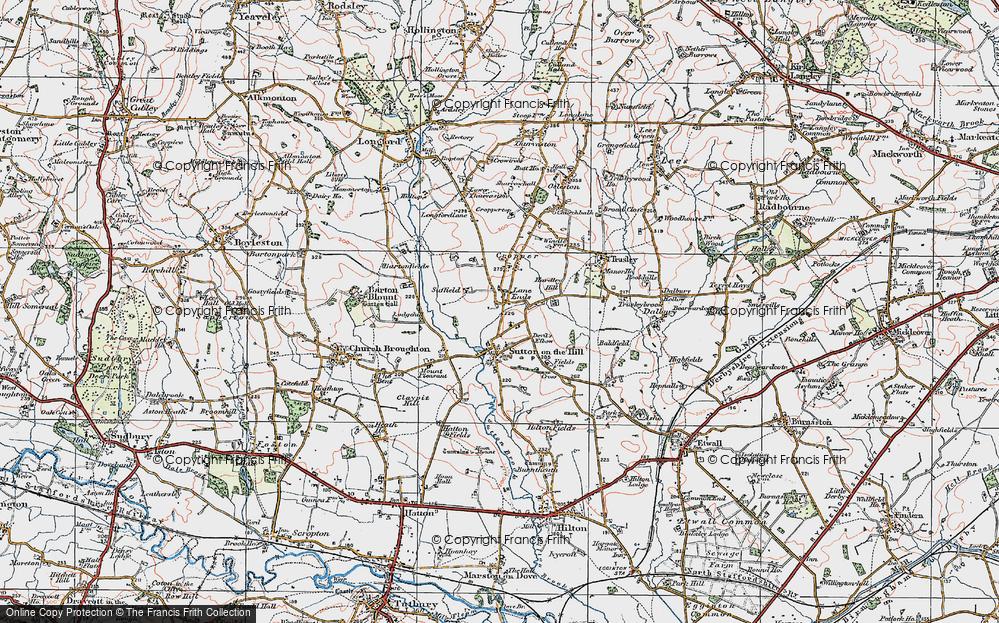 Lane Ends, 1921