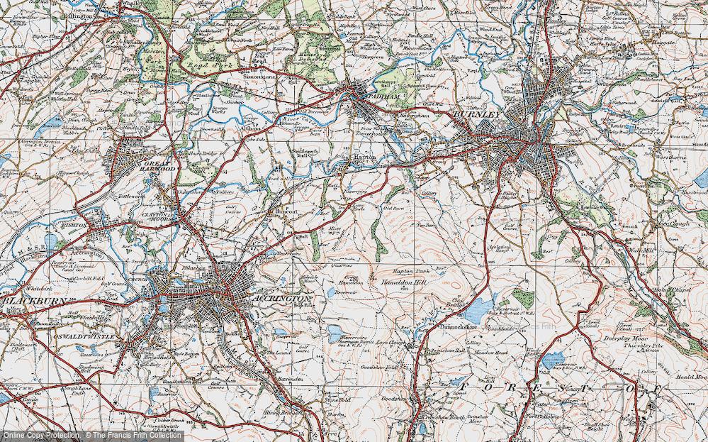 Lane Ends, 1924