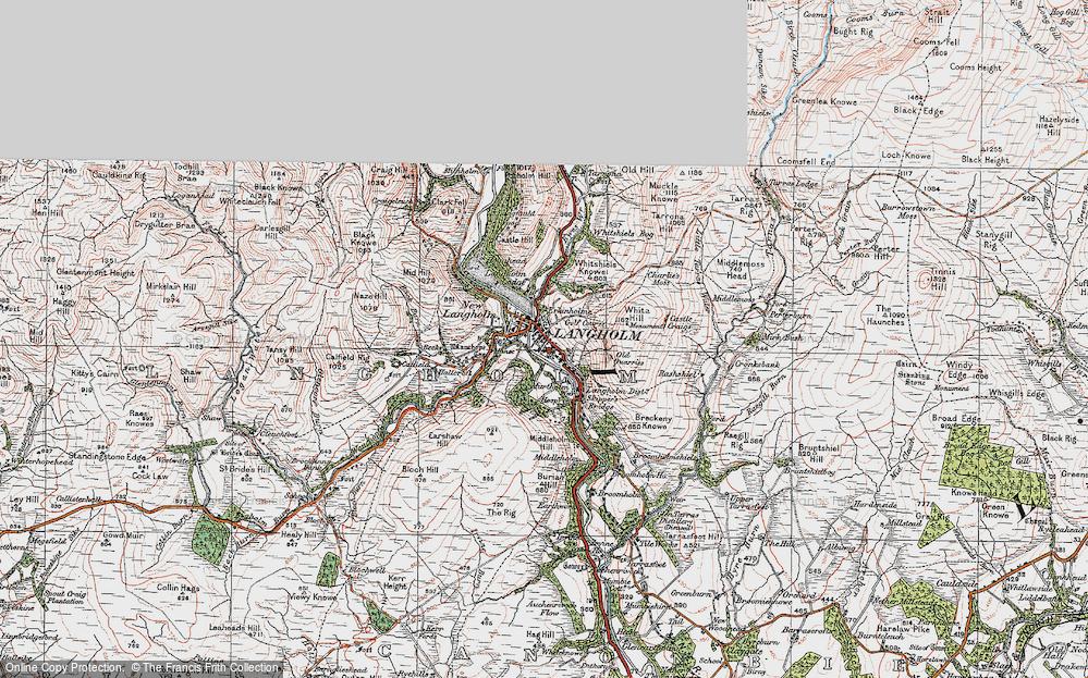 Langholm, 1925