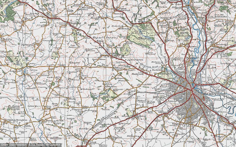 Langley Common, 1921