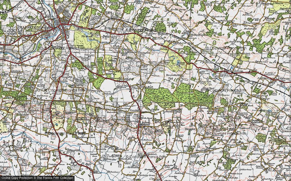 Langley Heath, 1921