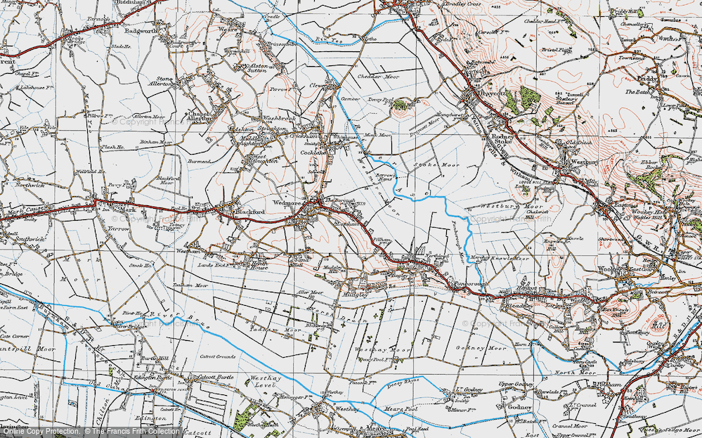 Old Map of Latcham, 1919 in 1919