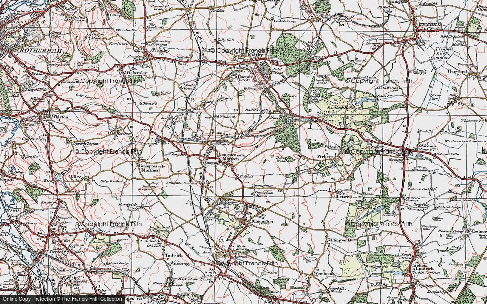Laughton en le Morthen, 1923