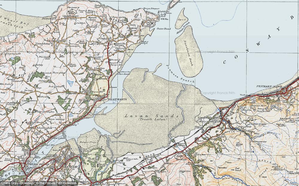 Lavan Sands, 1922